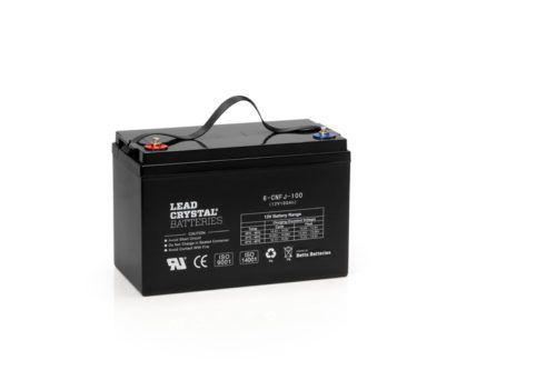Lead Crystal Battery 100 AH