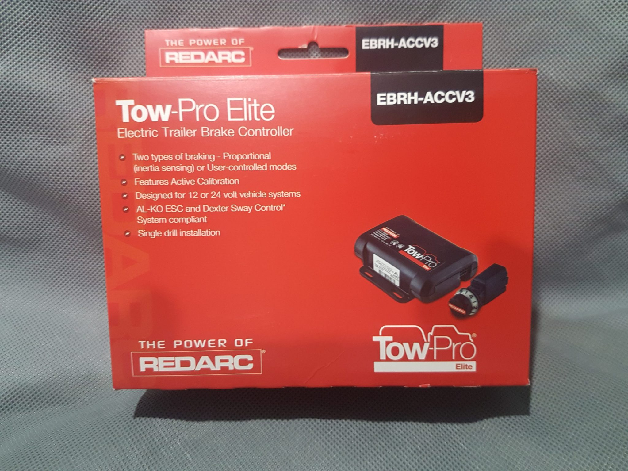 Tow-Pro Elite Electric Trailer Brake Controller