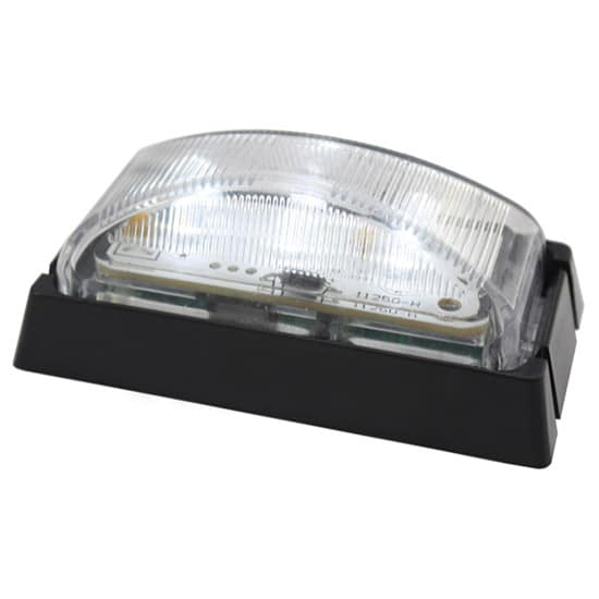 Rear White LED Marker Lamp